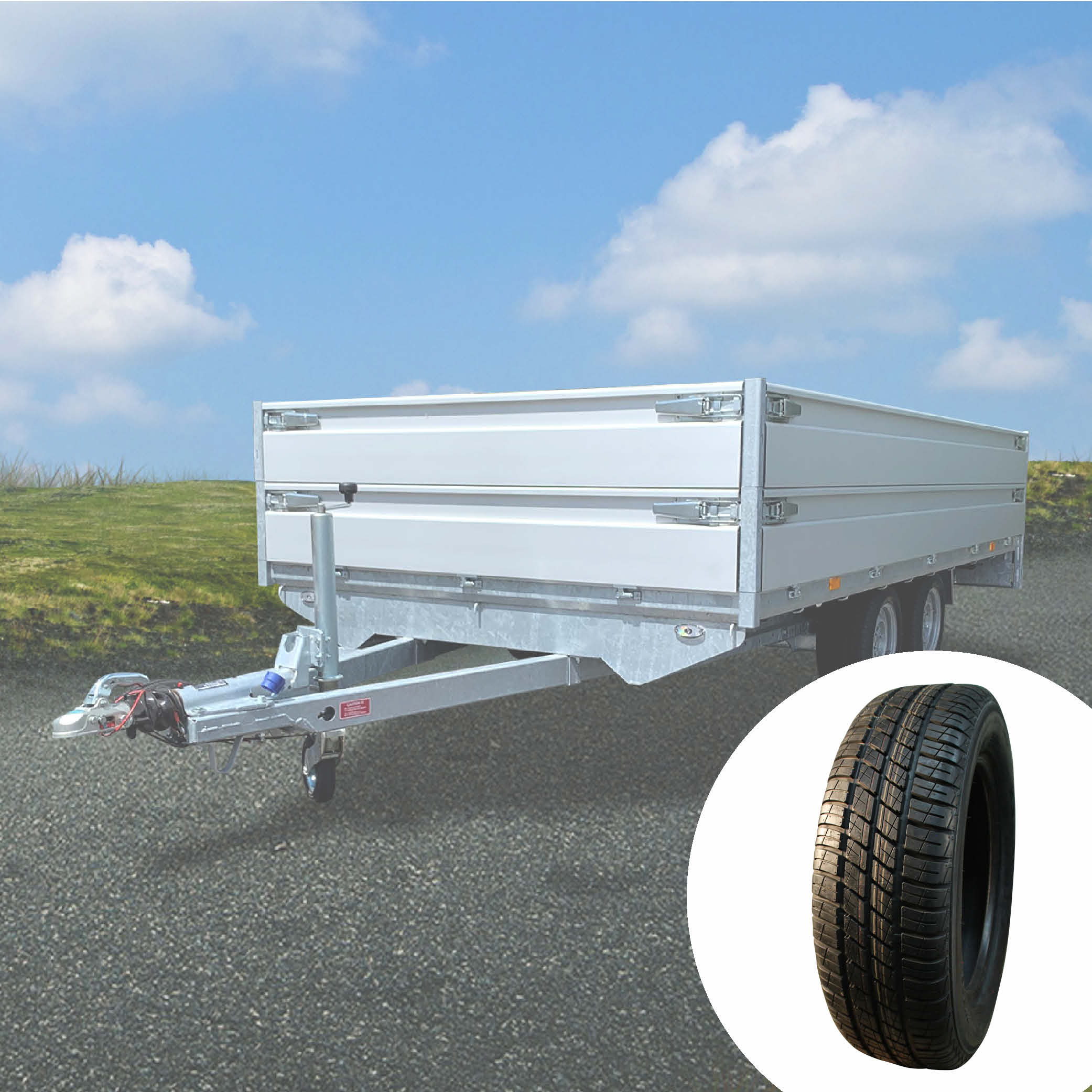 Trailer tyres / high speed